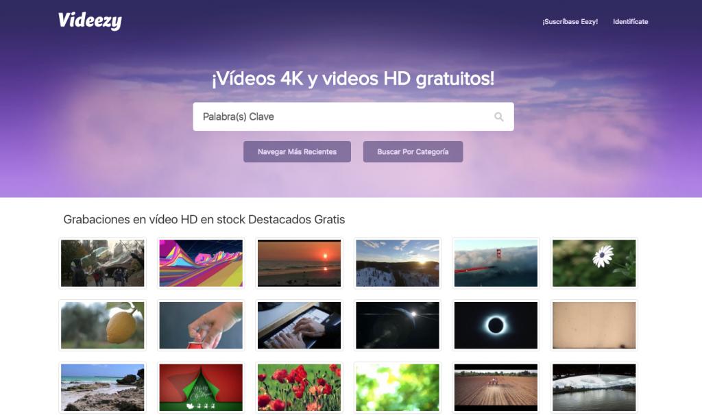 videos 4k y hd gratuitos