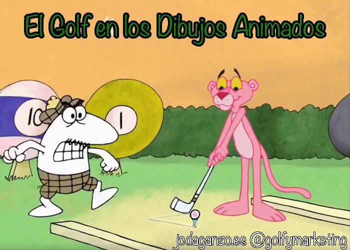 golf dibujos animados