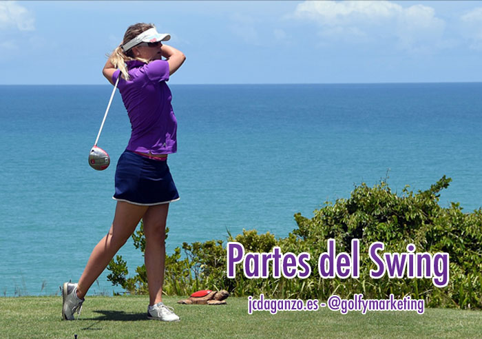 Partes swing golf