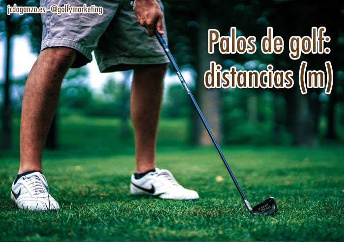 43079c54dde87 Distancias con cada palo de golf - Golf   Marketing